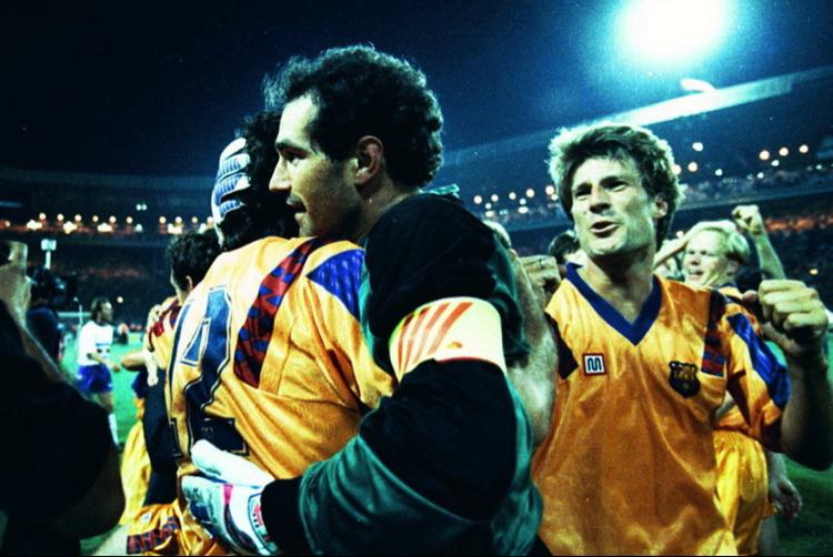Barça Legends:  Andoni Zubizarreta